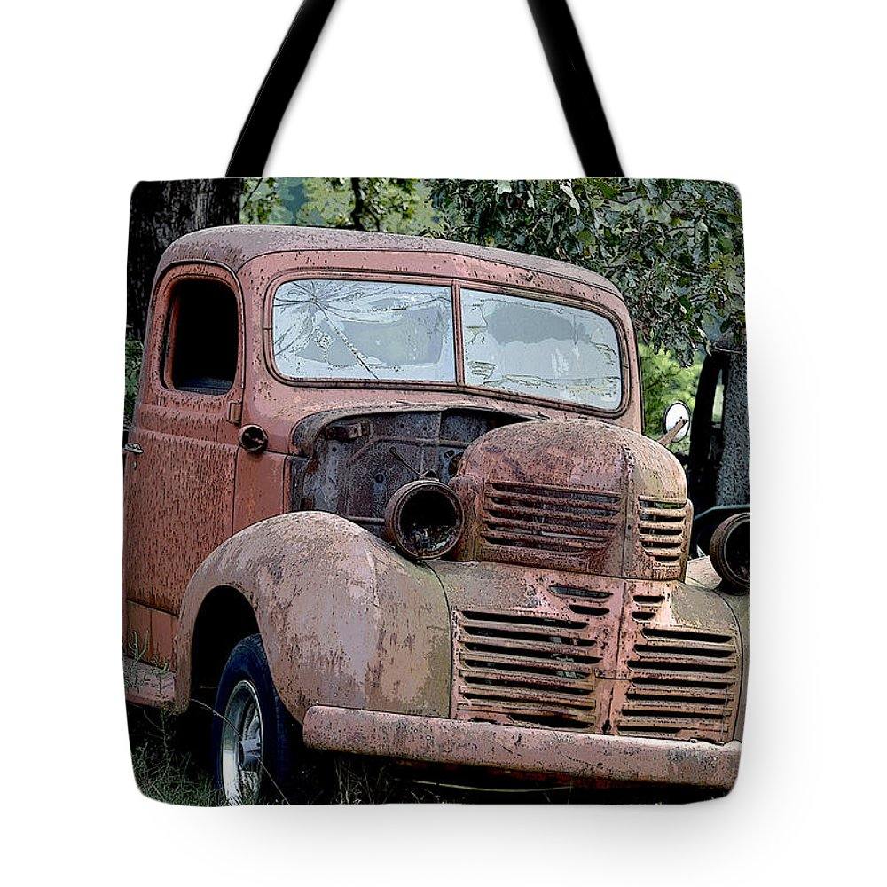 Vintage American Pickup Trucks Color Tote Bag for Sale by Sally ...