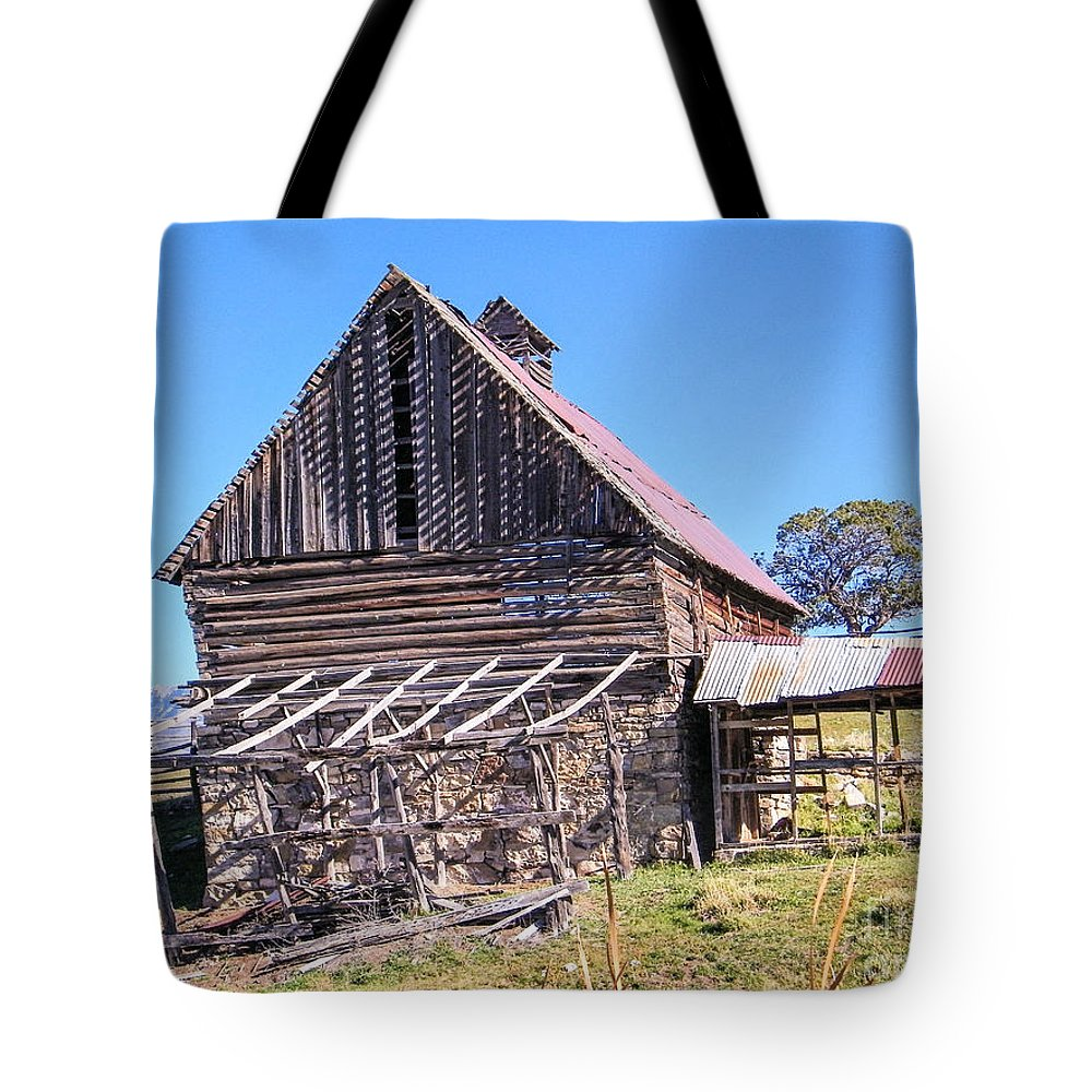 Old Tote Bag featuring the photograph Vintage Barn Beauty II by Dale Jackson