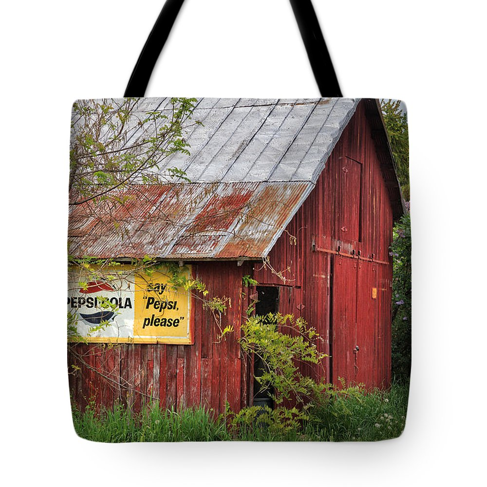 Bucolic Tote Bag featuring the photograph Vintage by Bill Wakeley