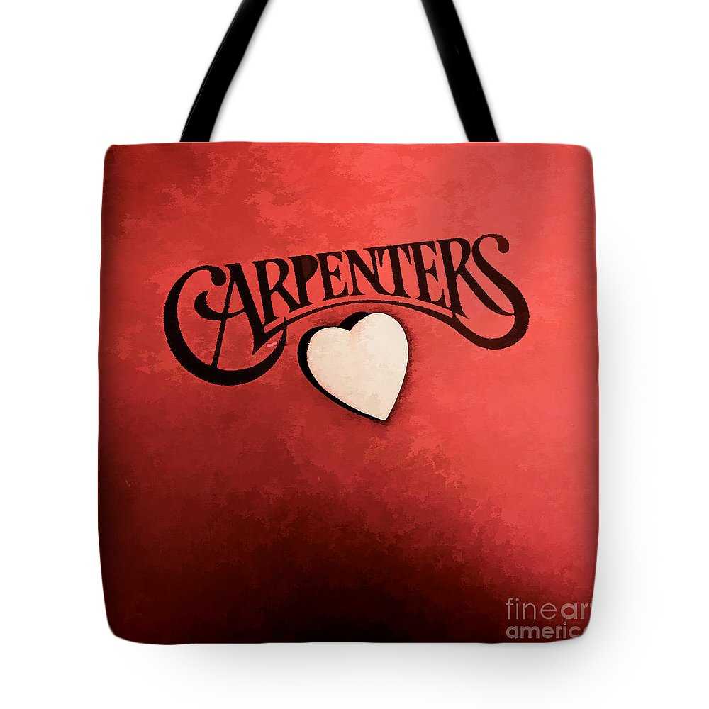 Album Covers Tote Bag featuring the photograph Vintage Cover by Siera Anthony