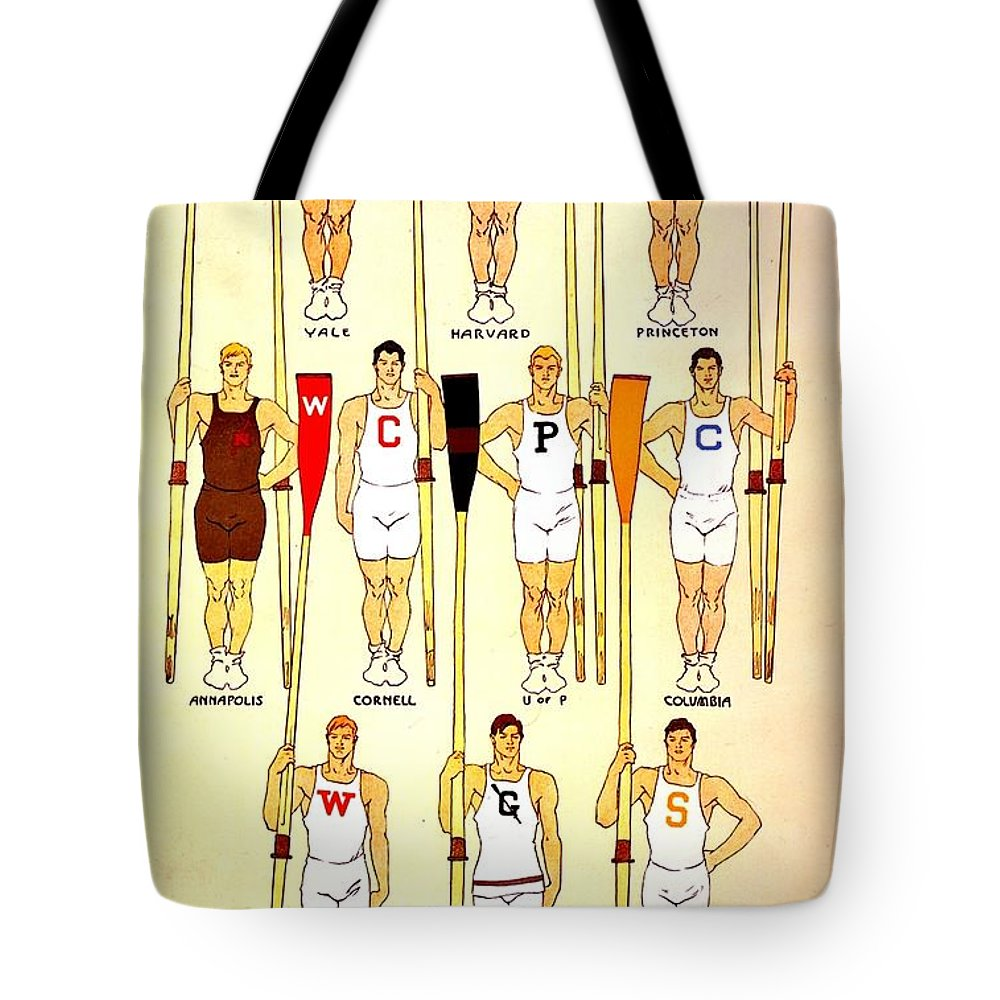 Vintage Tote Bag featuring the photograph Vintage Crew Poster by Benjamin Yeager