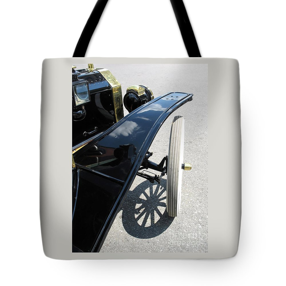 Model T Tote Bag featuring the photograph Vintage Model T by Ann Horn
