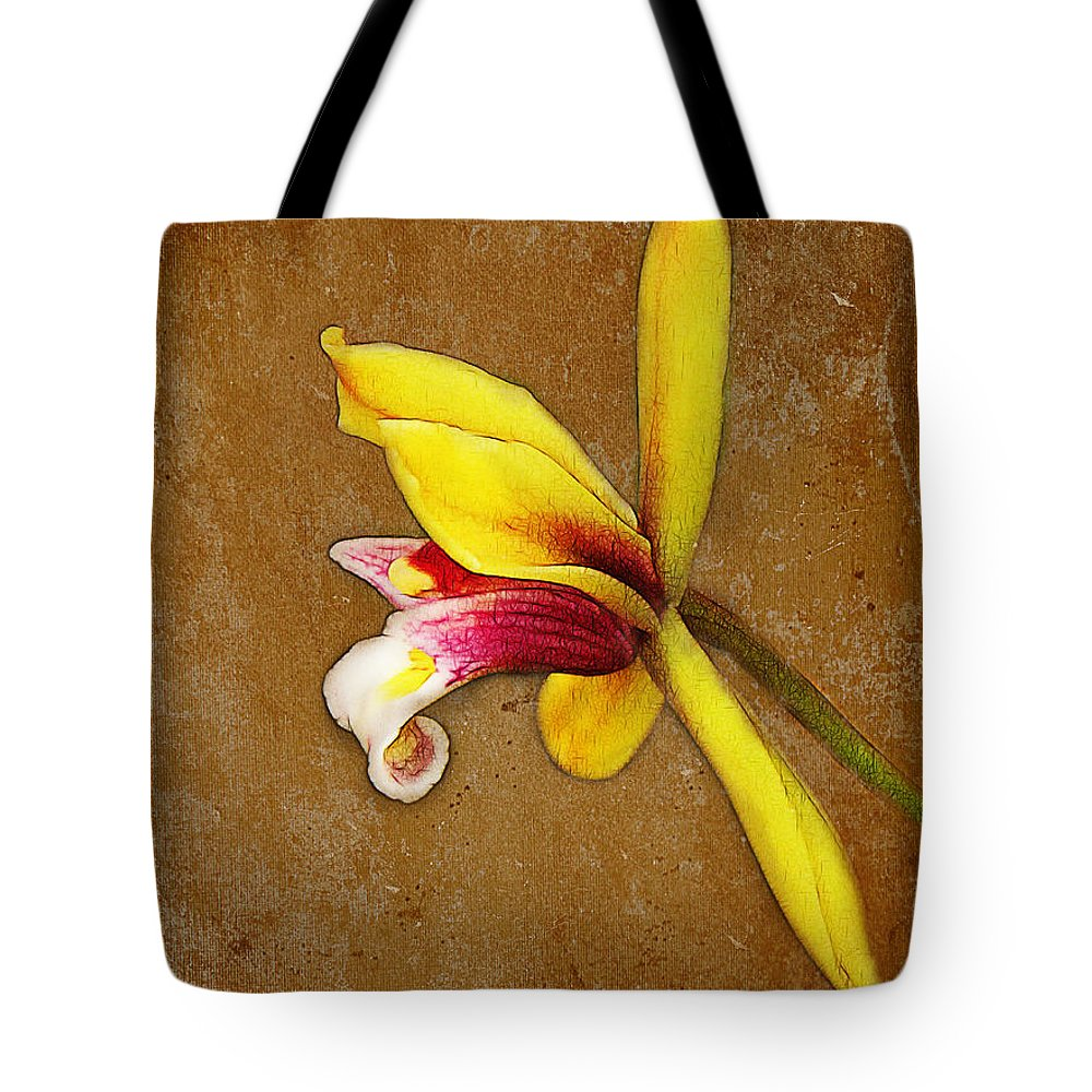 Vintage Tote Bag featuring the photograph Vintage Orchid by Judi Bagwell