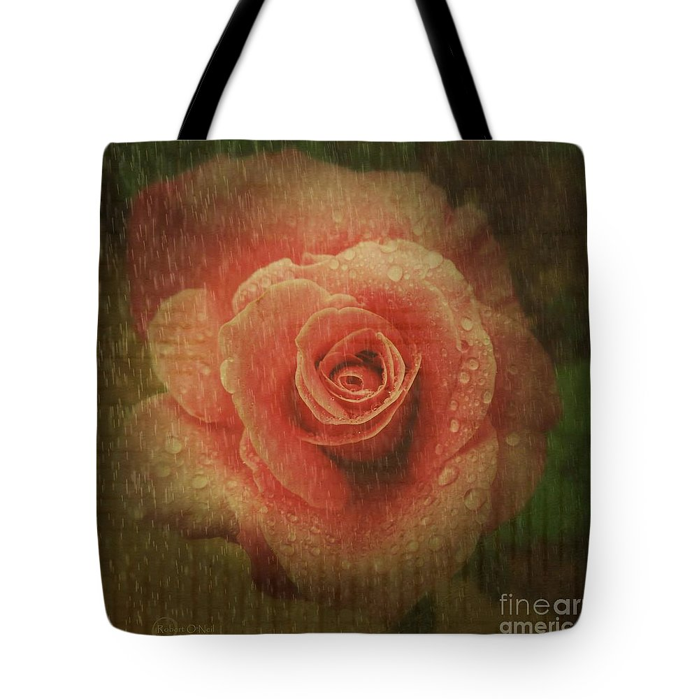 Rose Tote Bag featuring the photograph Vintage Romance by Robert ONeil