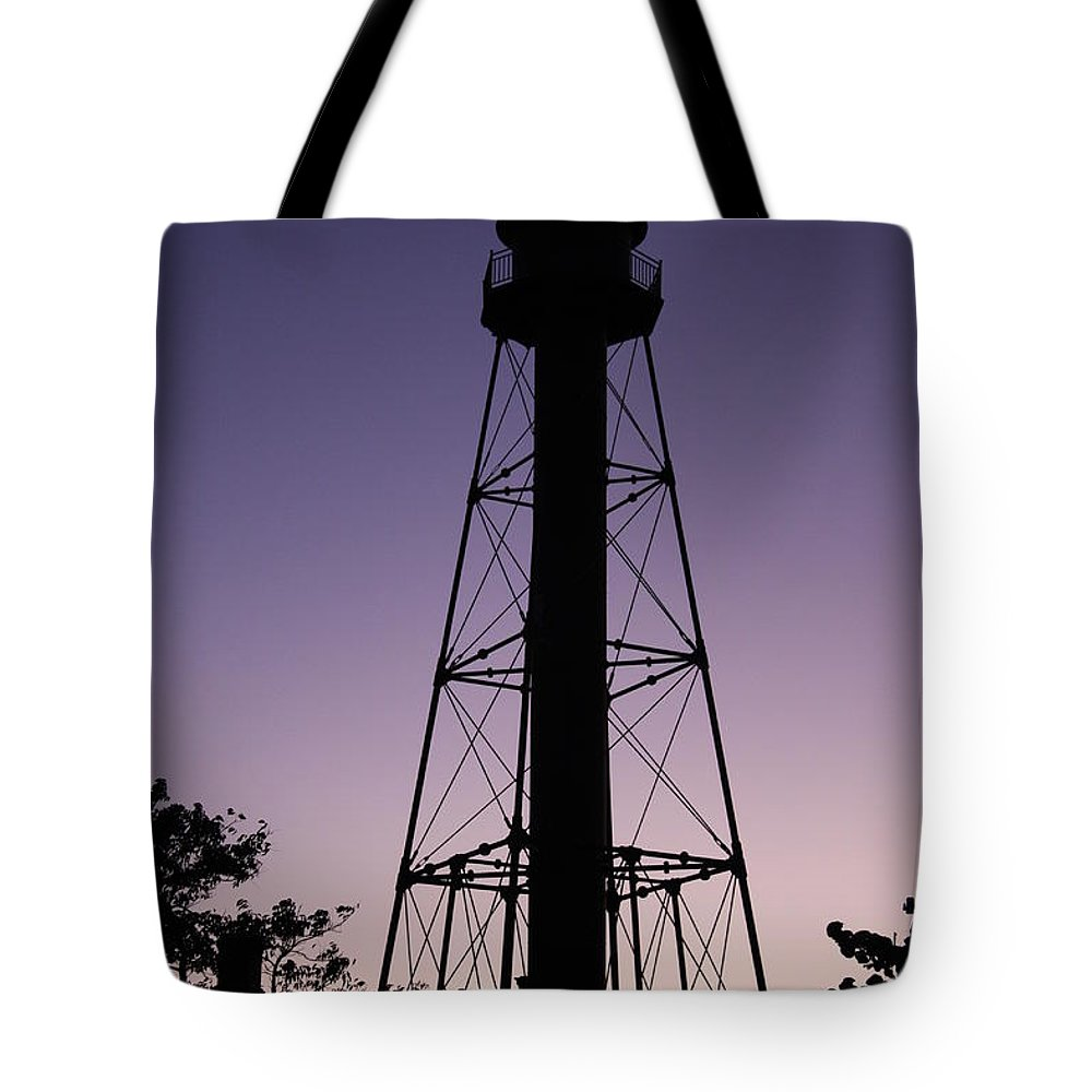 Sunset Tote Bag featuring the photograph Violet Sunset by Christiane Schulze Art And Photography