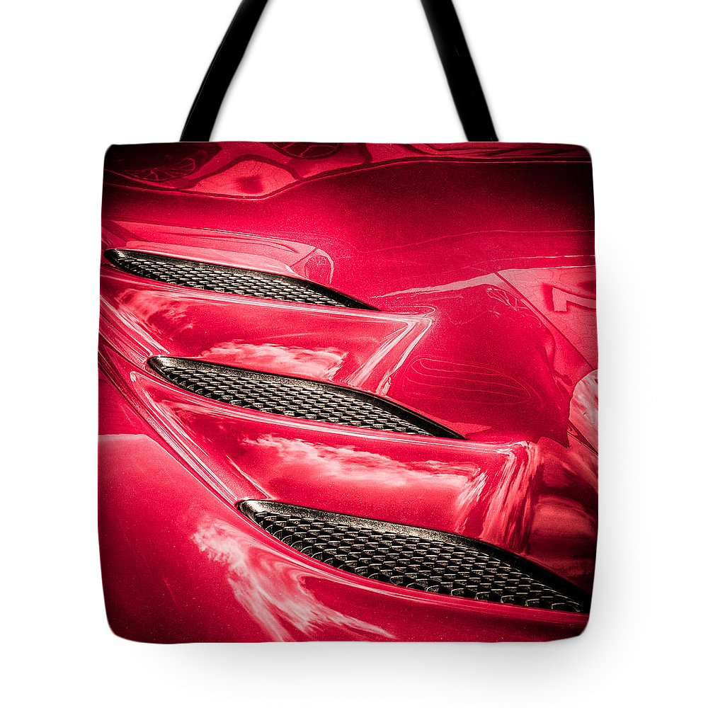 Tote Bag featuring the photograph Viper Gills by Scott Wyatt