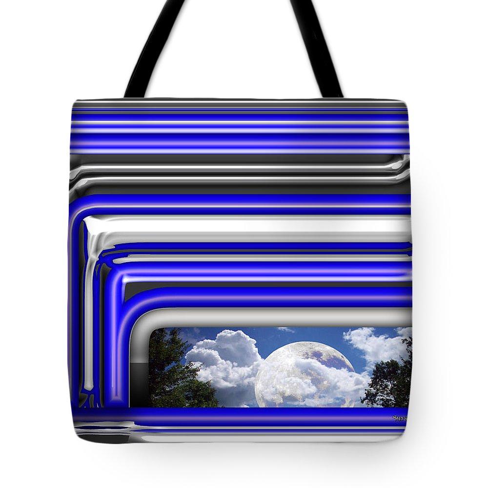 Sky Tote Bag featuring the digital art Visions by Robert Orinski