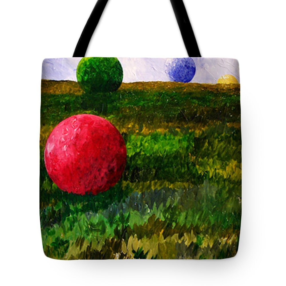 Color Tote Bag featuring the painting W061814 by Bert Munoz