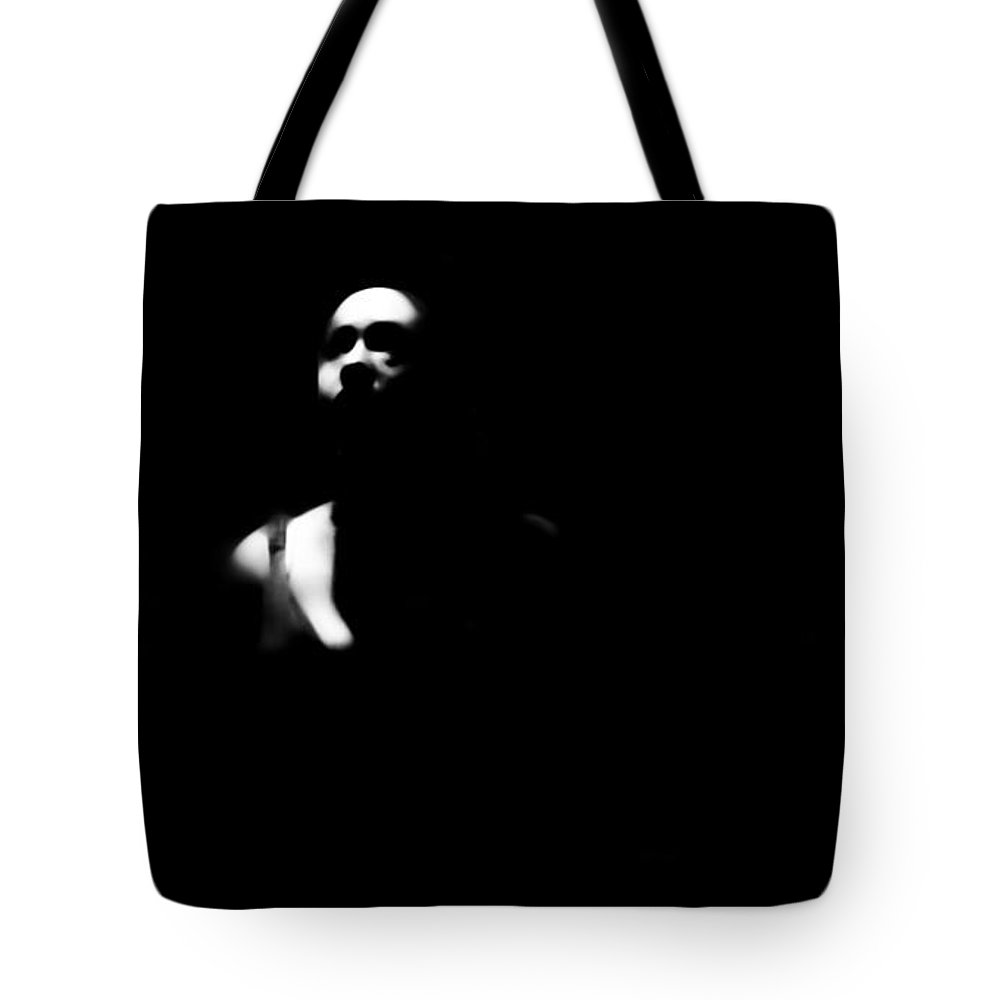 Black Tote Bag featuring the photograph Waiting For Happy by Jessica Shelton