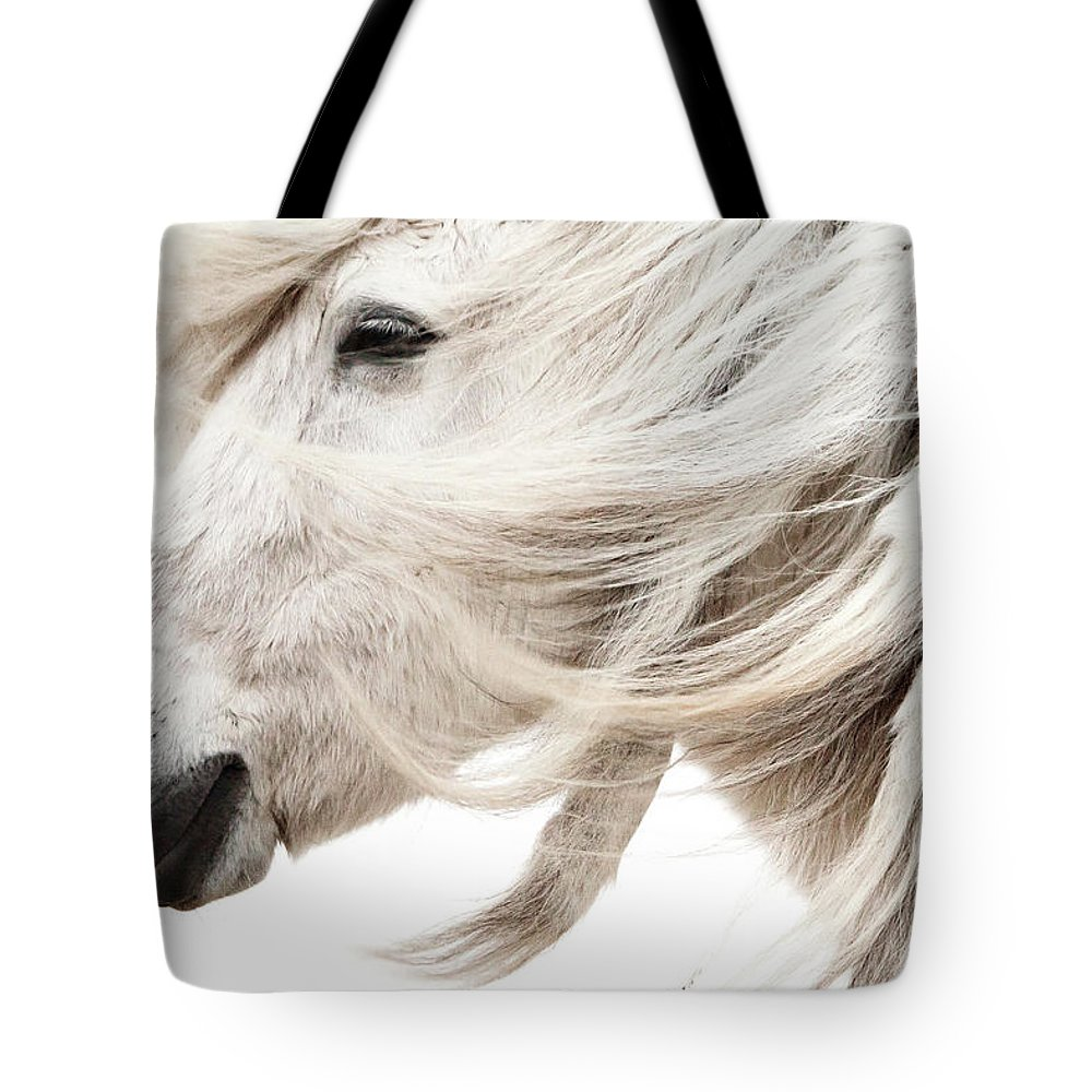 Wind Tote Bag featuring the photograph Waiting For Spring by Gigja Einarsdottir