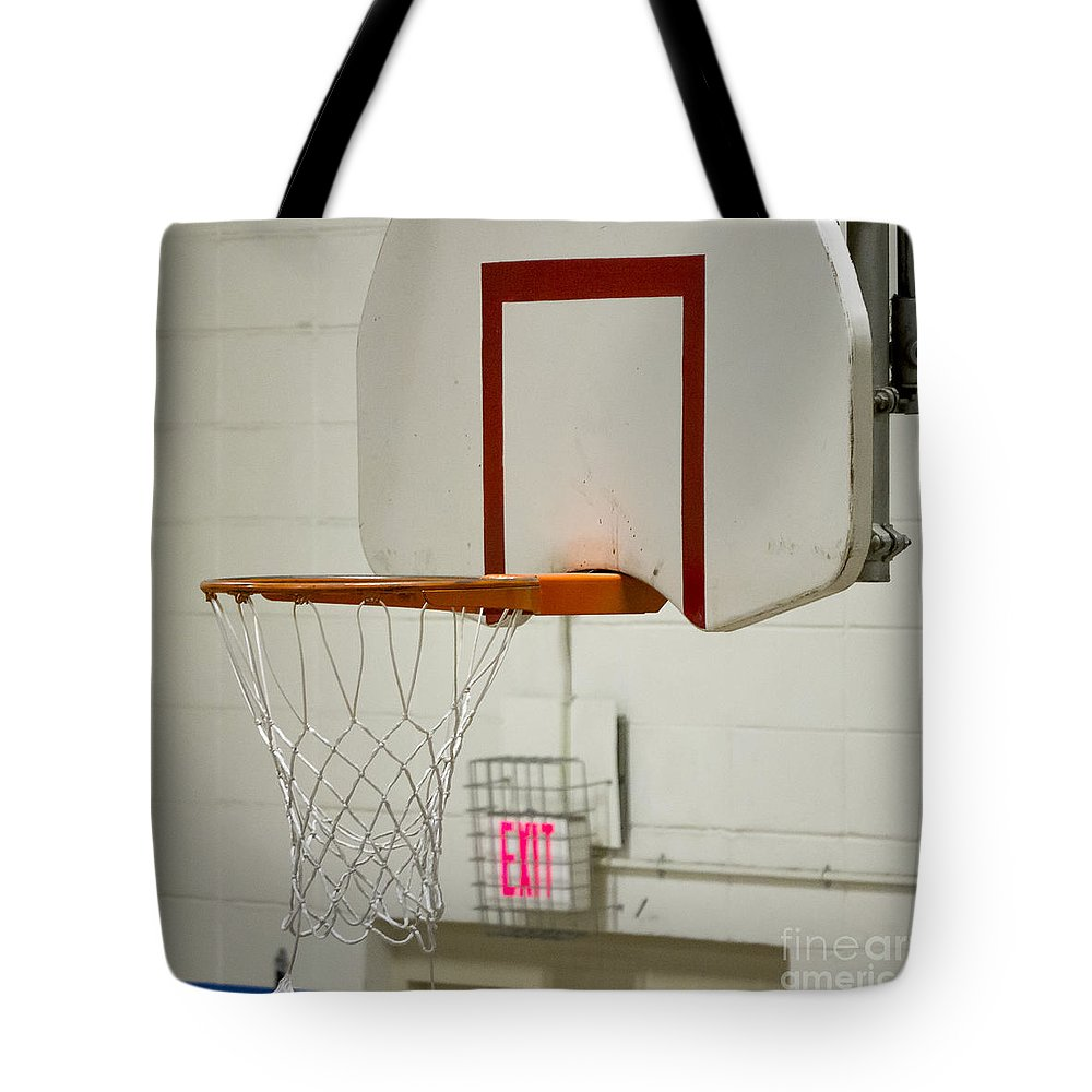 Cherokee Tote Bag featuring the photograph Waiting For The Ball by Steven Ralser