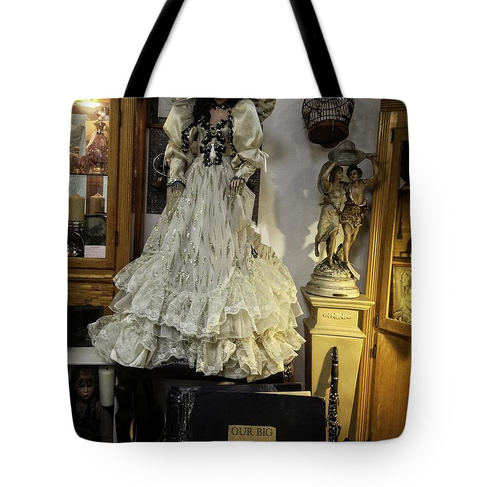 Antique Tote Bag featuring the photograph Waiting For The Next Generation To Love Me by Image Takers Photography LLC - Carol Haddon