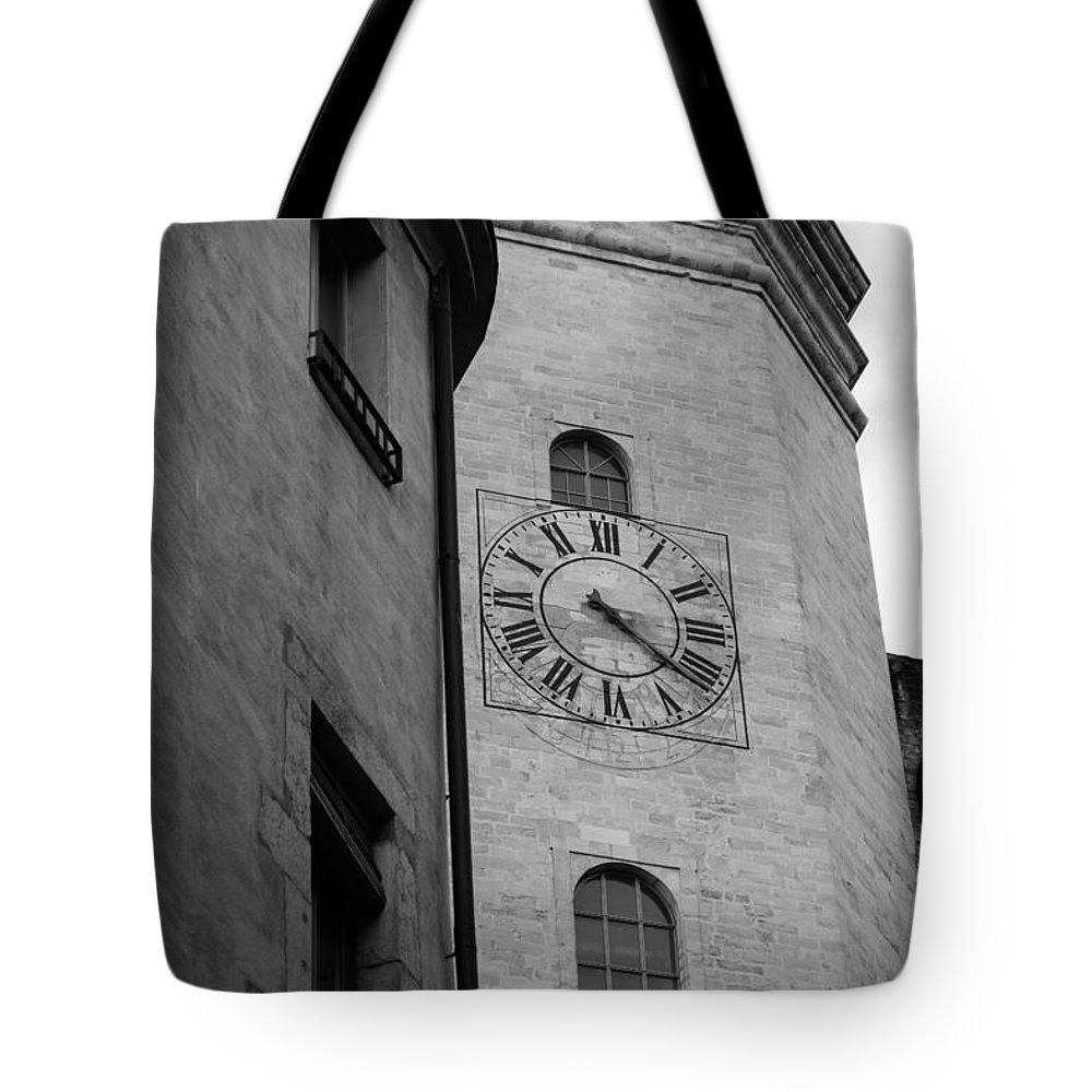 Church Clock Tote Bag featuring the photograph Waiting On You by Mair Hunt
