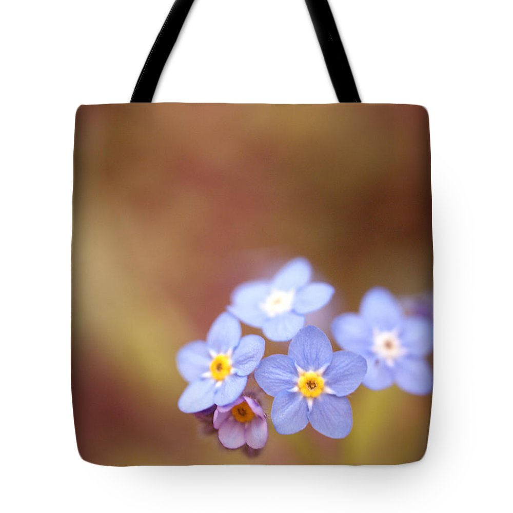 Forget-me-not Tote Bag featuring the photograph Waiting by Rachel Mirror