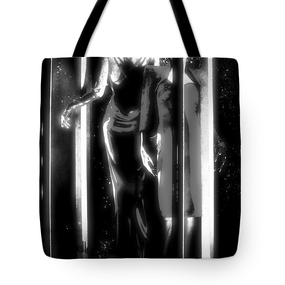 Newel Hunter Tote Bag featuring the photograph Walking On Air by Newel Hunter