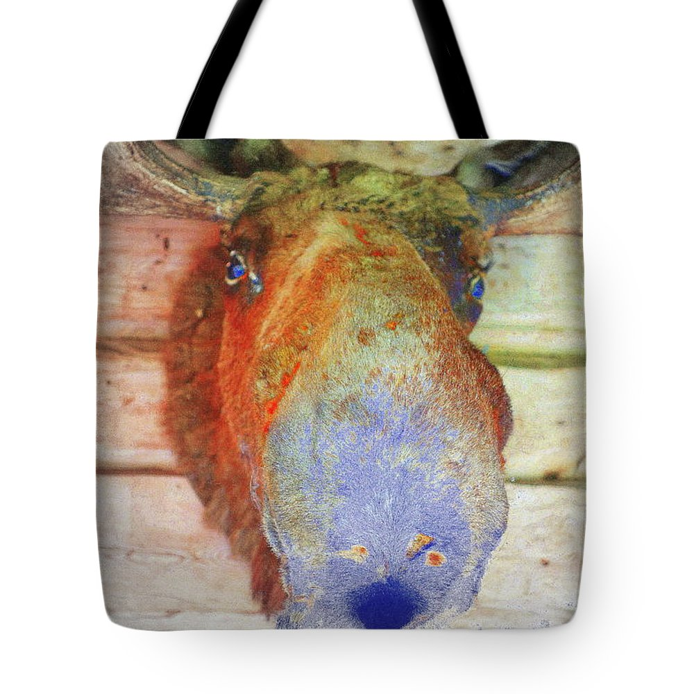 People Tote Bag featuring the photograph When The Wall Is Looking Back At You by Hilde Widerberg