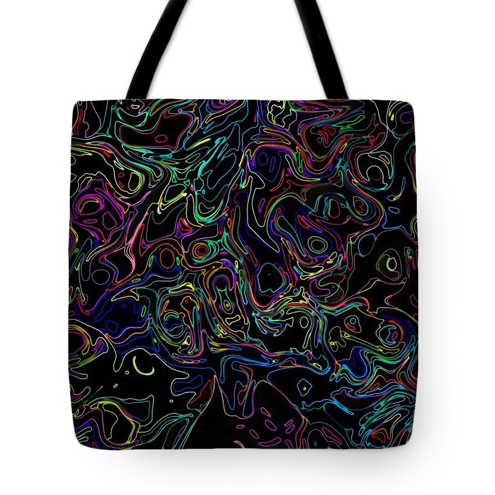 Neon Tote Bag featuring the photograph Waltz In F7 by Mark Blauhoefer