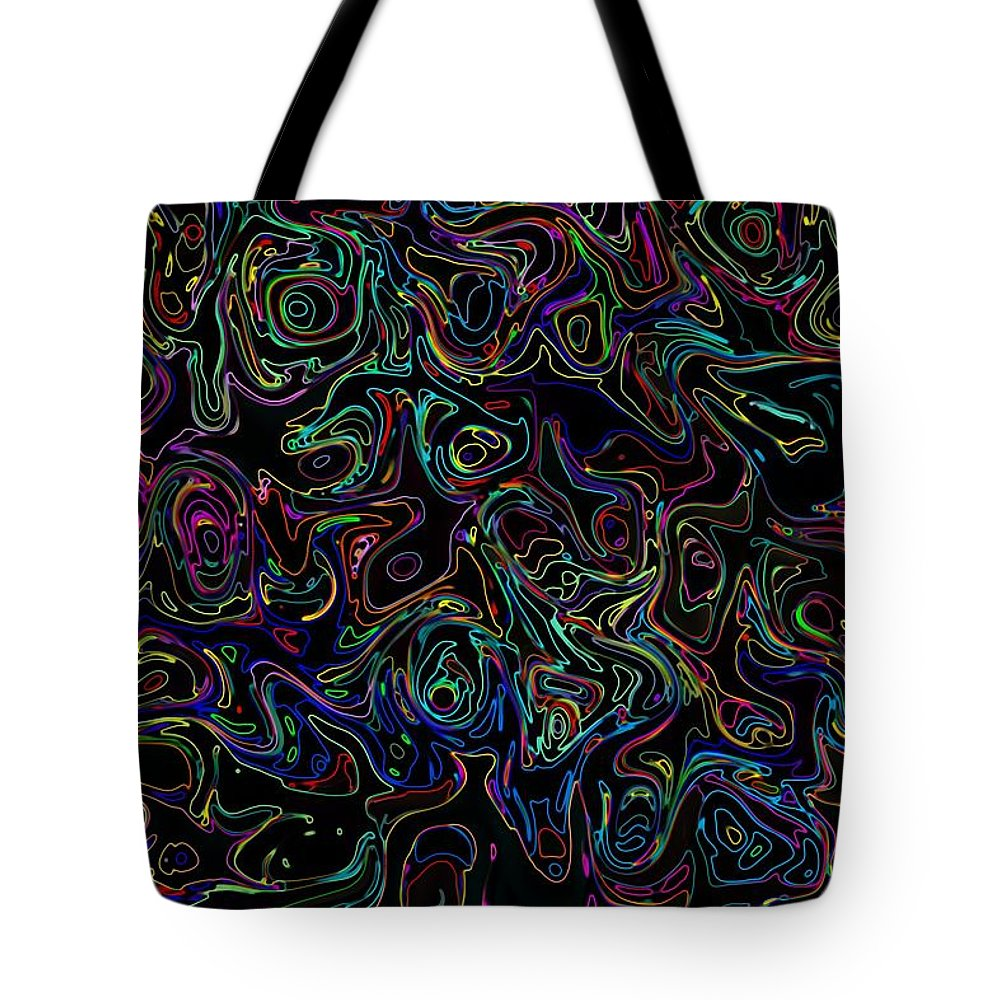 Neon Tote Bag featuring the photograph Waltz In G13 by Mark Blauhoefer