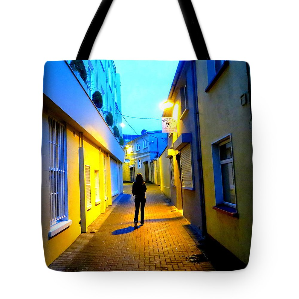 Woman Tote Bag featuring the photograph Wandering Woman by Joshua Gooding
