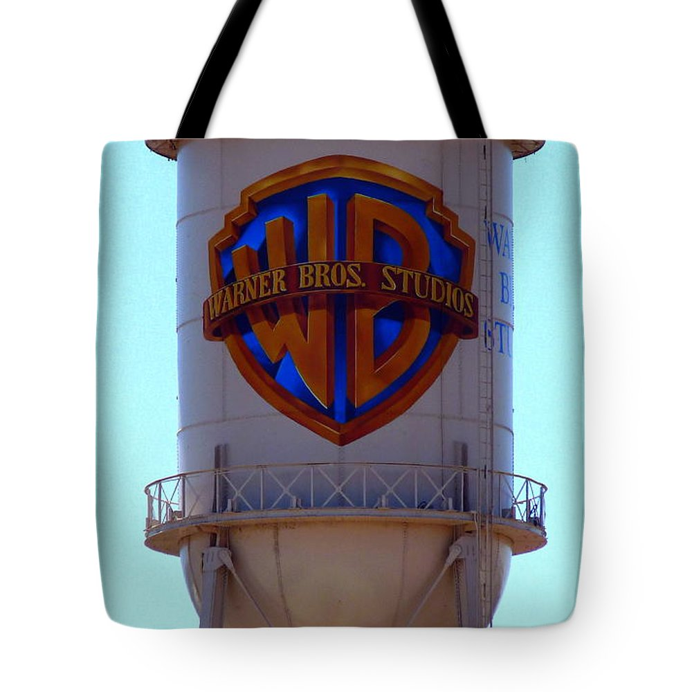 Warner Bros Studios Tote Bag featuring the photograph Warner Bros Studios by Jeff Lowe