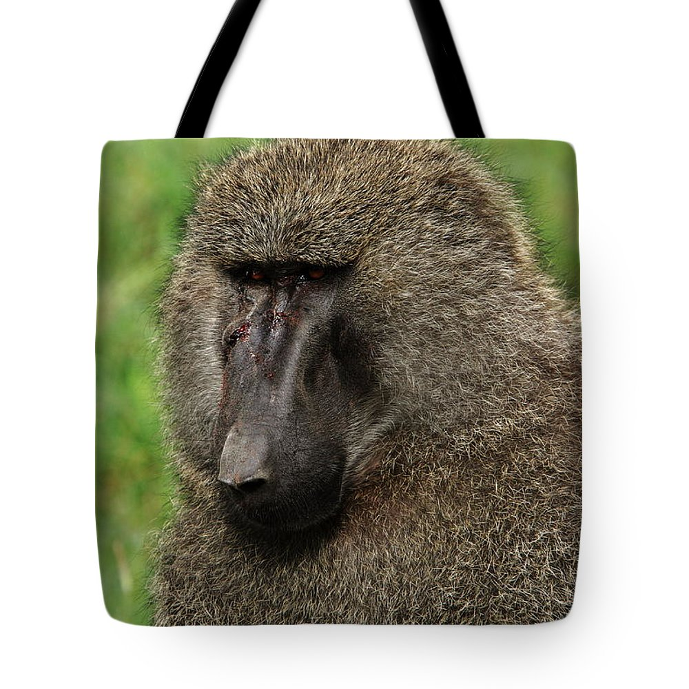 East Africa Tote Bag featuring the photograph Warrior by Aidan Moran