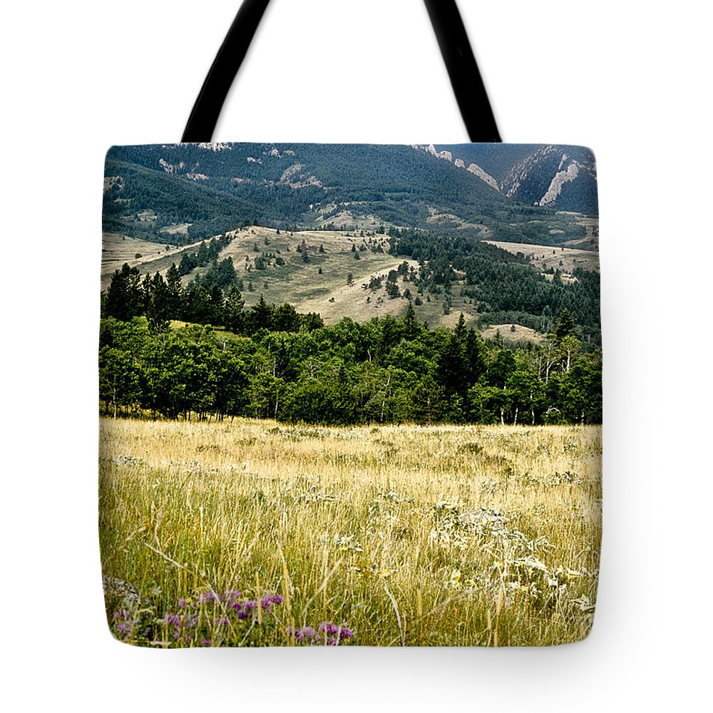 Wilderness Tote Bag featuring the photograph Washake Wilderness by Kathy McClure