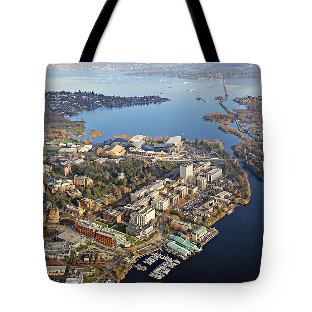 University Tote Bag featuring the photograph Washington University by Paul Fell