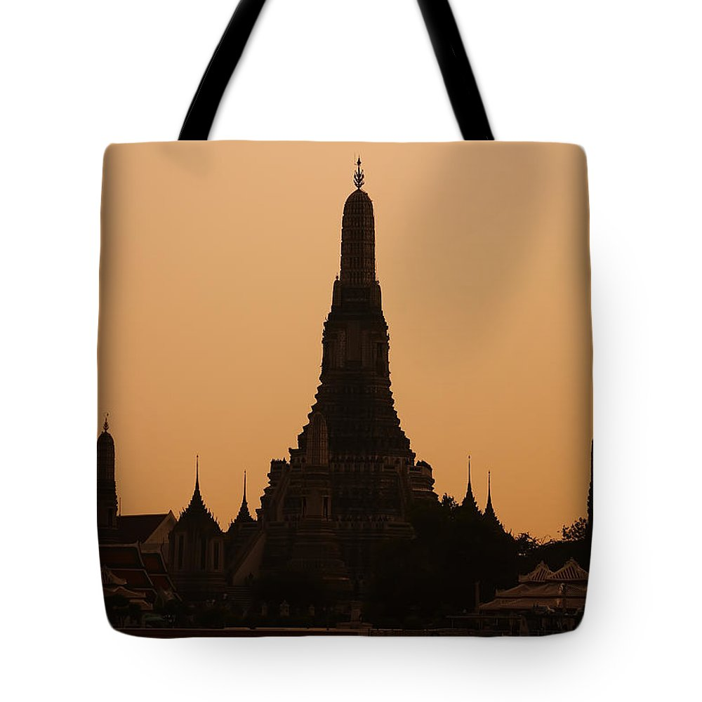 3scape Photos Tote Bag featuring the photograph Wat Arun by Adam Romanowicz