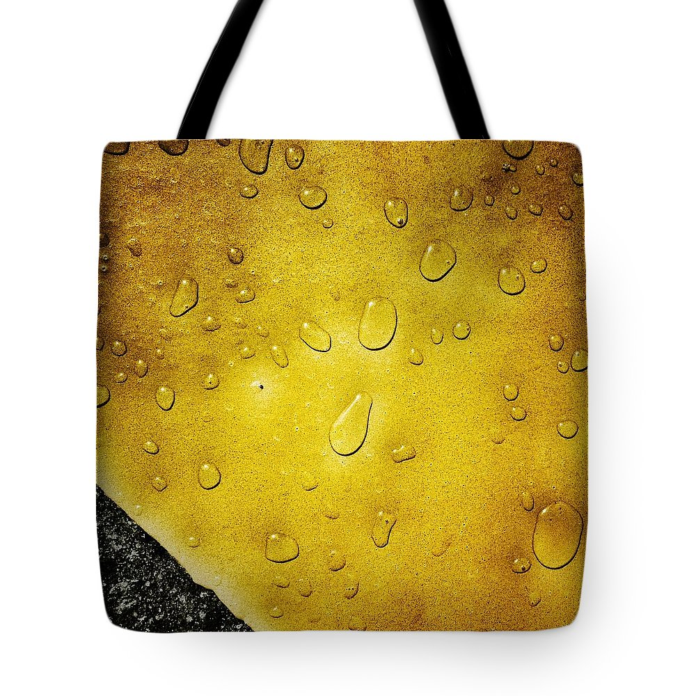 Water Tote Bag featuring the photograph Water Drops by Anne Thurston