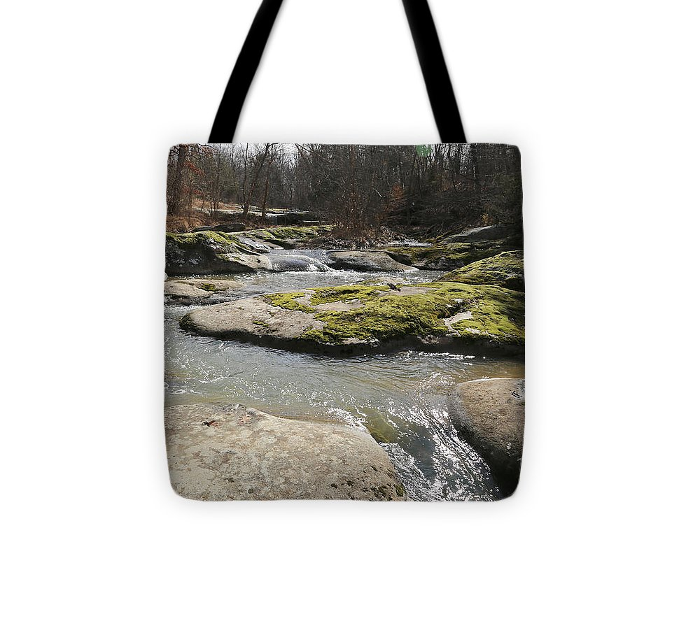 Water Fall Tote Bag featuring the photograph Water Fall Kentucky 2 by Dwight Cook