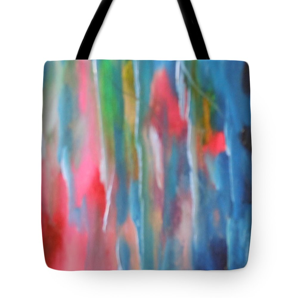 Water Tote Bag featuring the painting Water by Lord Frederick Lyle Morris - Disabled Veteran