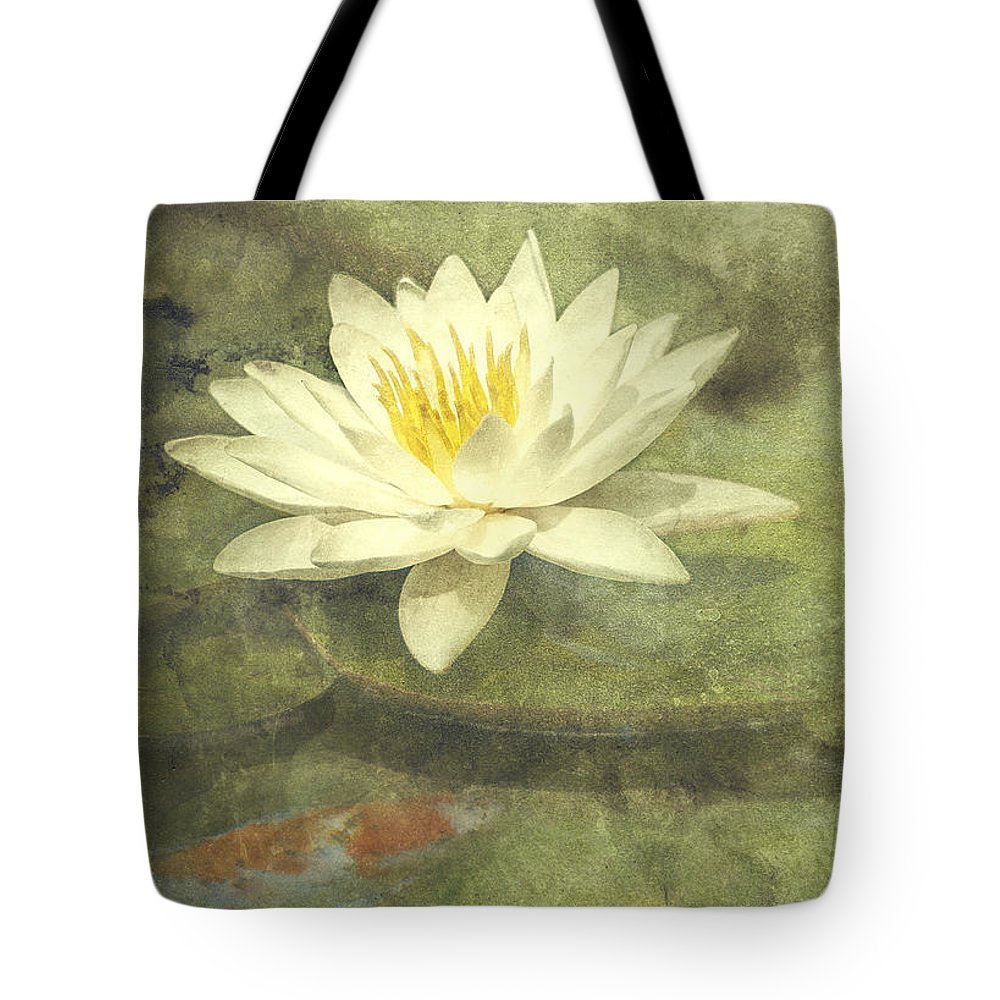 Lily Pads Tote Bags