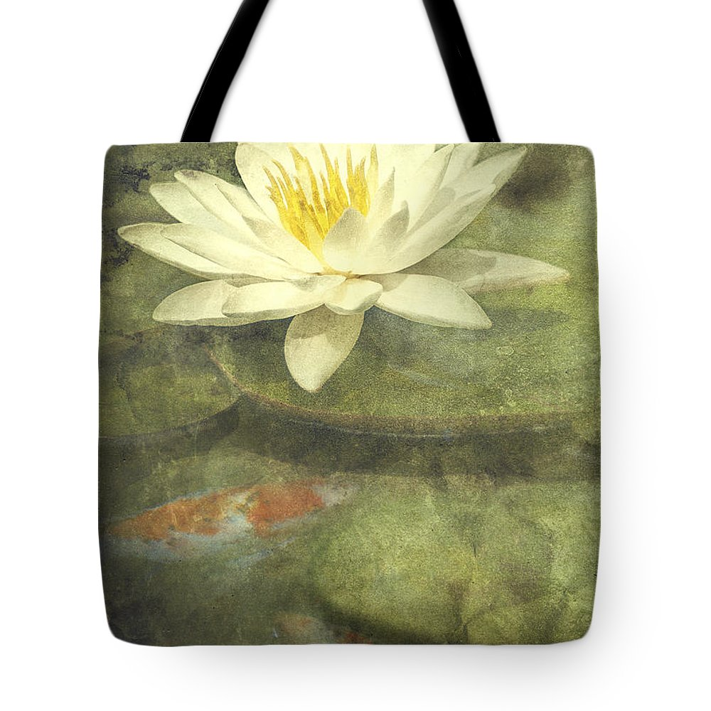Water Lily Tote Bag featuring the photograph Water Lily by Scott Norris