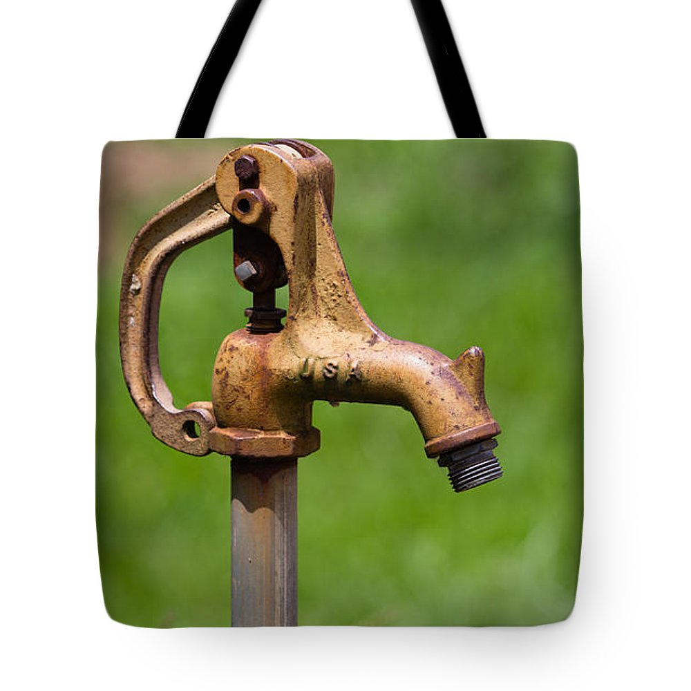 Water Spicket Or Spigot Tote Bag for Sale by Christy Cox