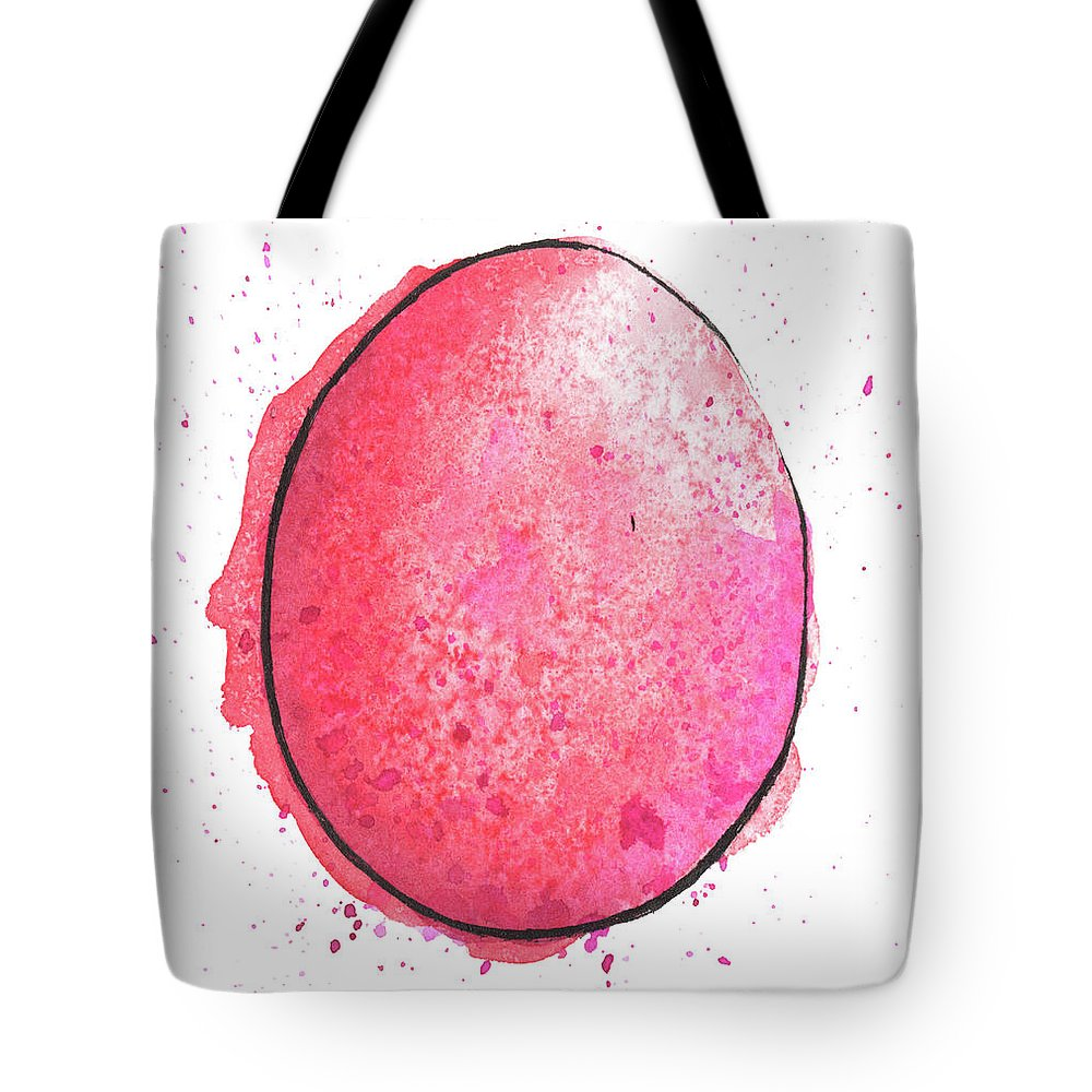 Watercolor Painting Tote Bag featuring the digital art Watercolor Painting Of A Colorful by Andrea hill