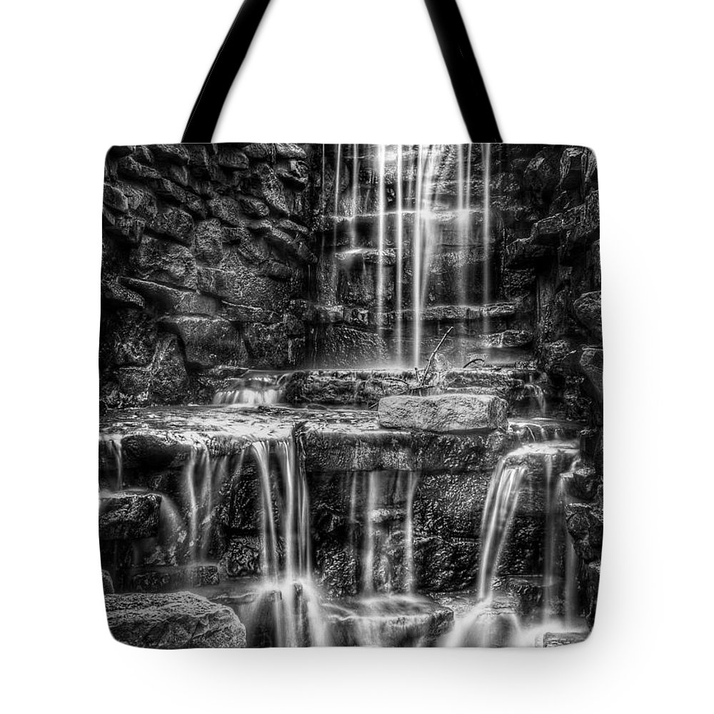 Waterfall Tote Bag featuring the photograph Waterfall by Scott Norris