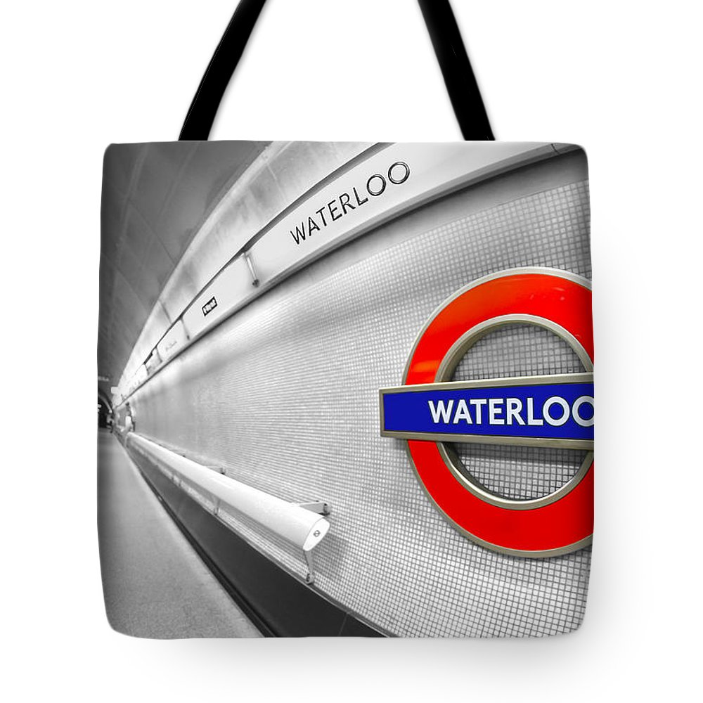 Waterloo Tote Bag featuring the photograph Waterloo by Evelina Kremsdorf