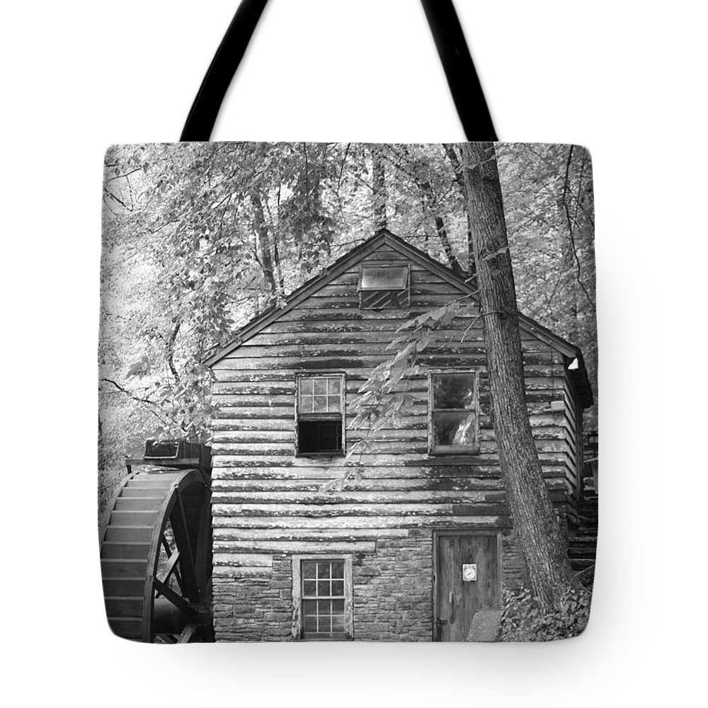 Watermill Tote Bag featuring the photograph Watermill Tennessee by Dwight Cook