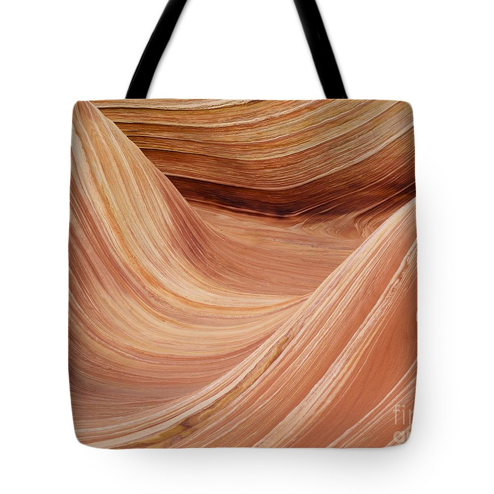 Landscape Tote Bag featuring the photograph Wave Rock 3 At Coyote Buttes by Alex Cassels