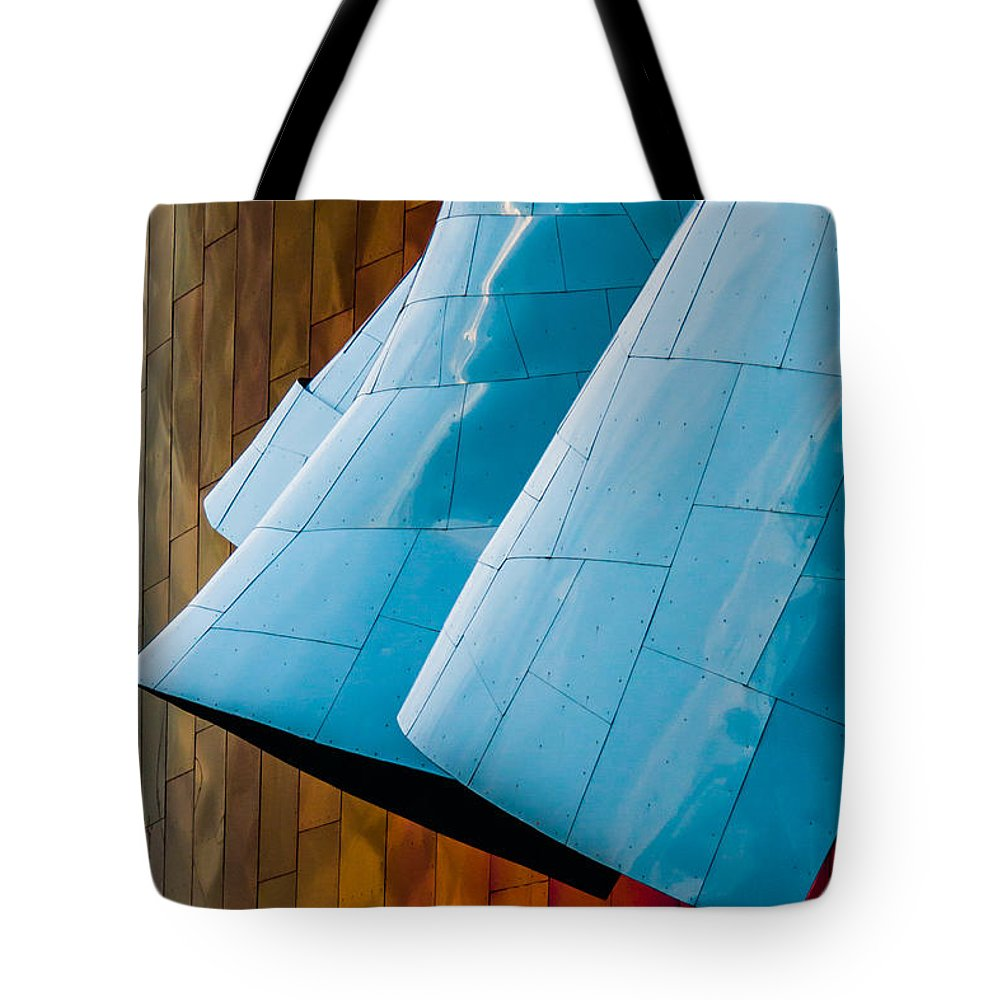 2008 Tote Bag featuring the photograph Waves Of Blue by Melinda Ledsome