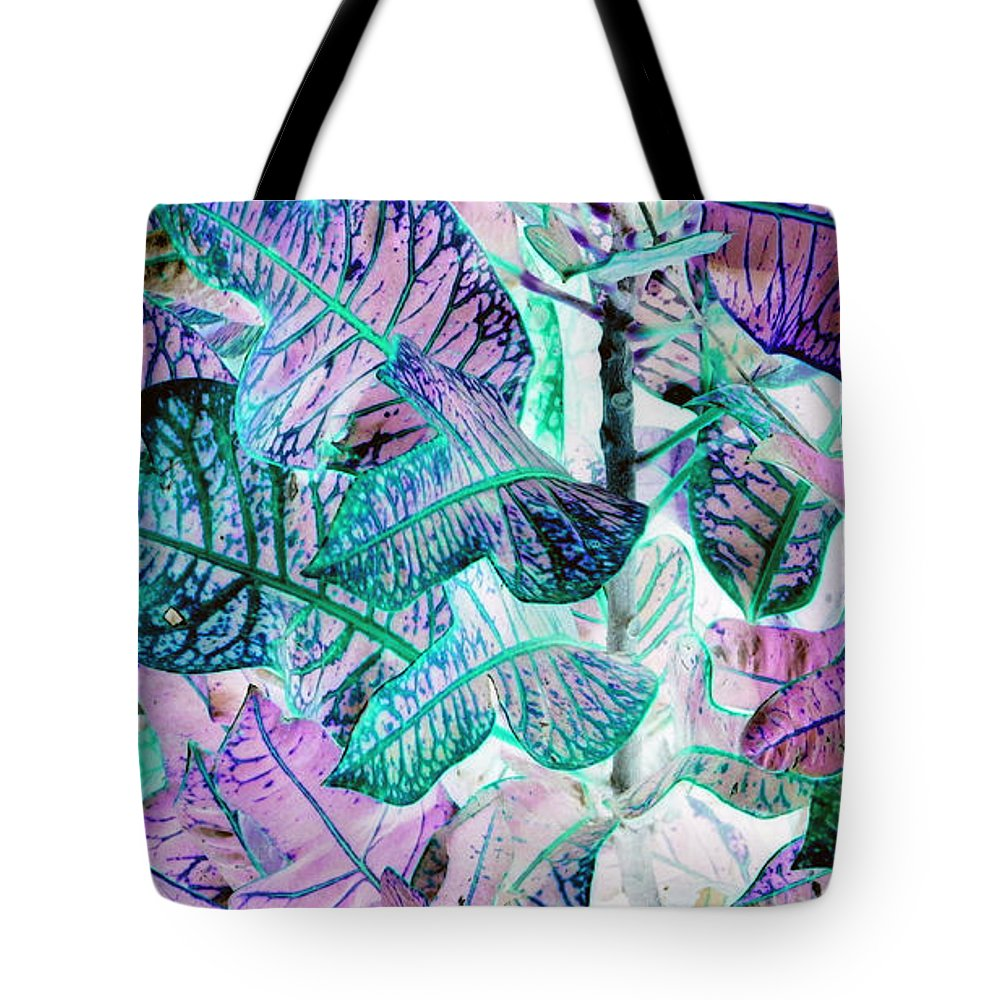Leaves Tote Bag featuring the photograph Waves Of Wonder by Debi Singer