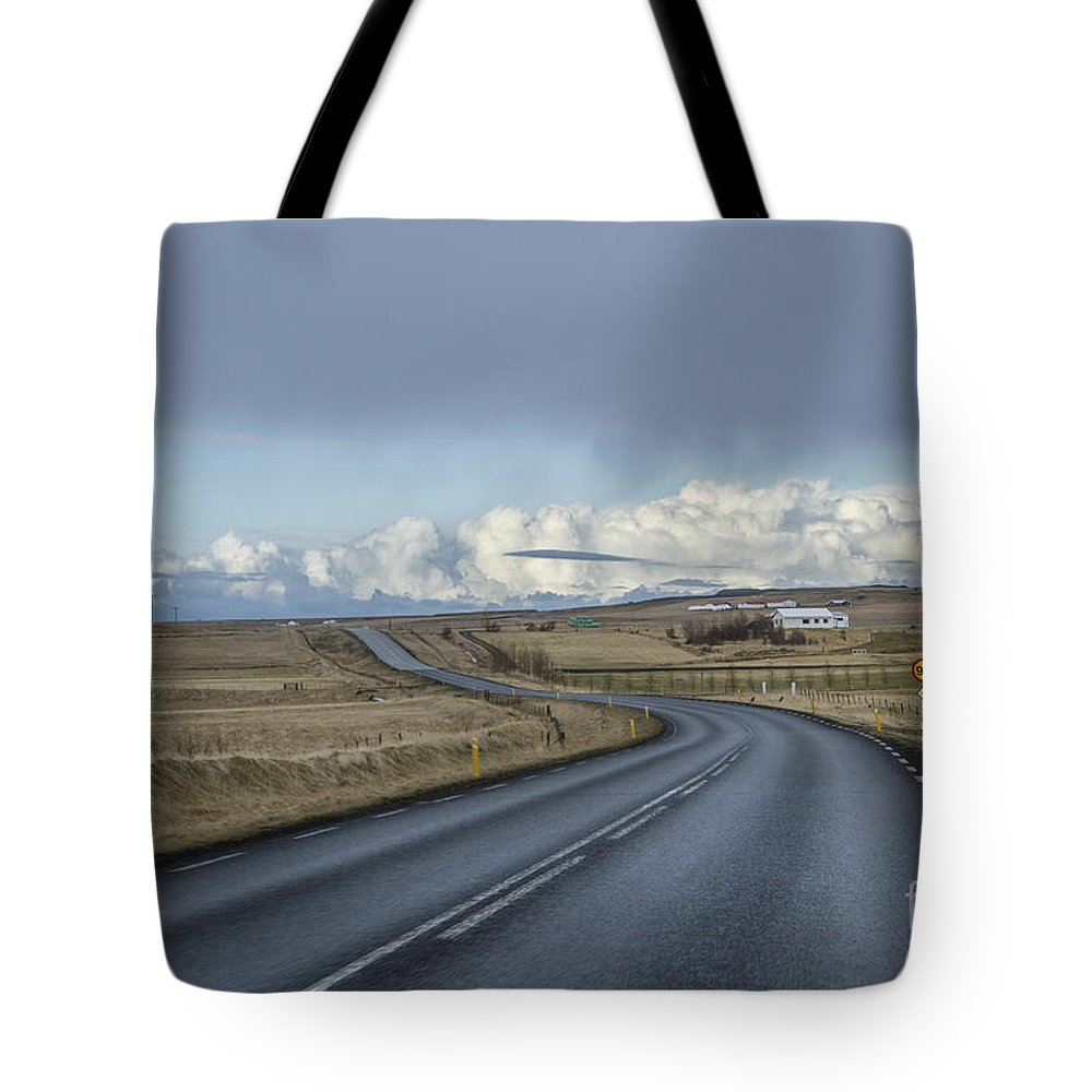 Iceland Tote Bag featuring the photograph Way Beyond by Evelina Kremsdorf