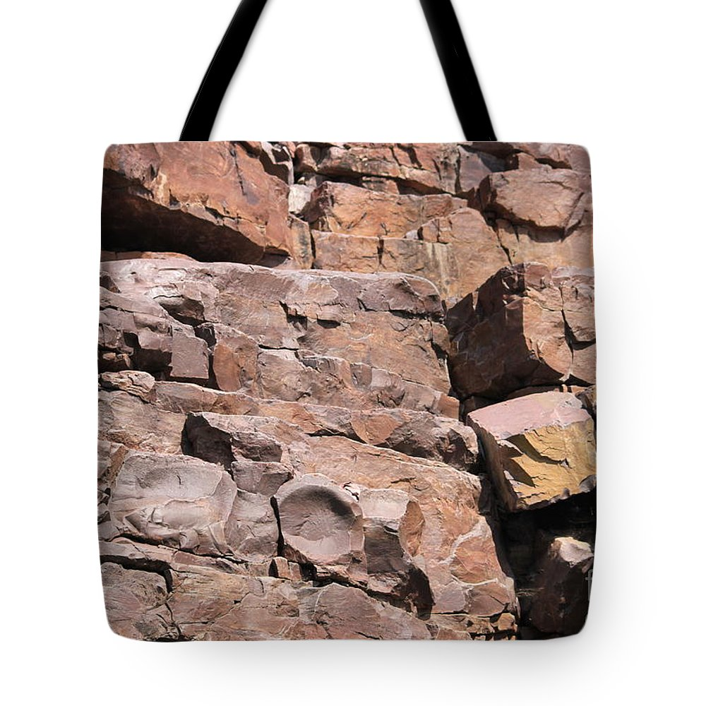 Sadhu Tote Bag featuring the photograph Way Of Stones by Four Hands Art