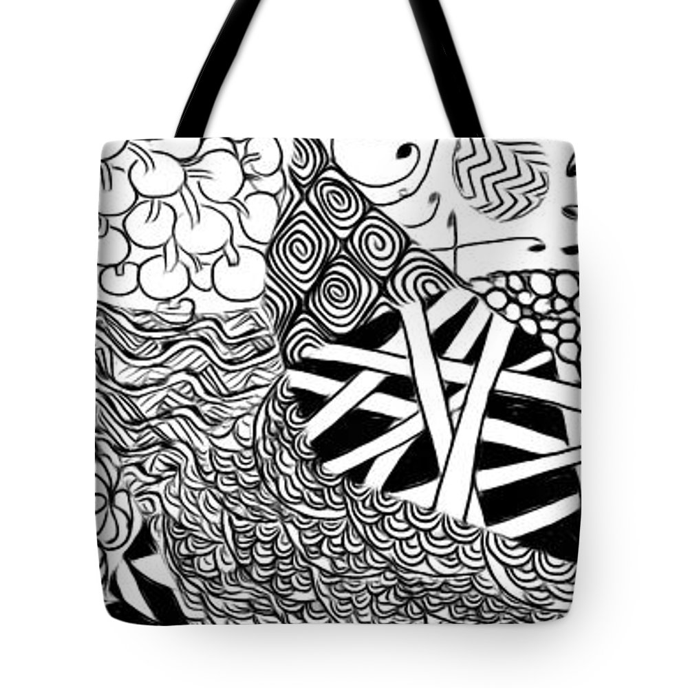 Drawing Tote Bag featuring the photograph We Sailed The Seas Together by Edward Fielding