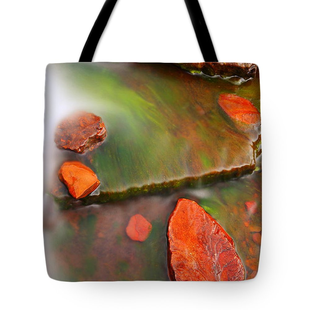 Weano Gorge Tote Bag featuring the photograph Weano Gorge - Karijini Np 2am-111702 by Andrew McInnes