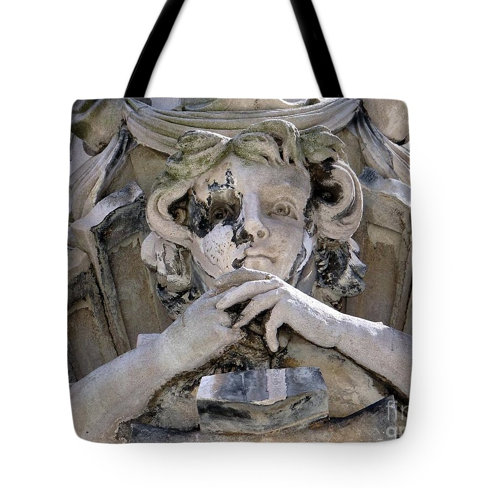 Facade Tote Bag featuring the photograph Weathered And Wise by Ed Weidman