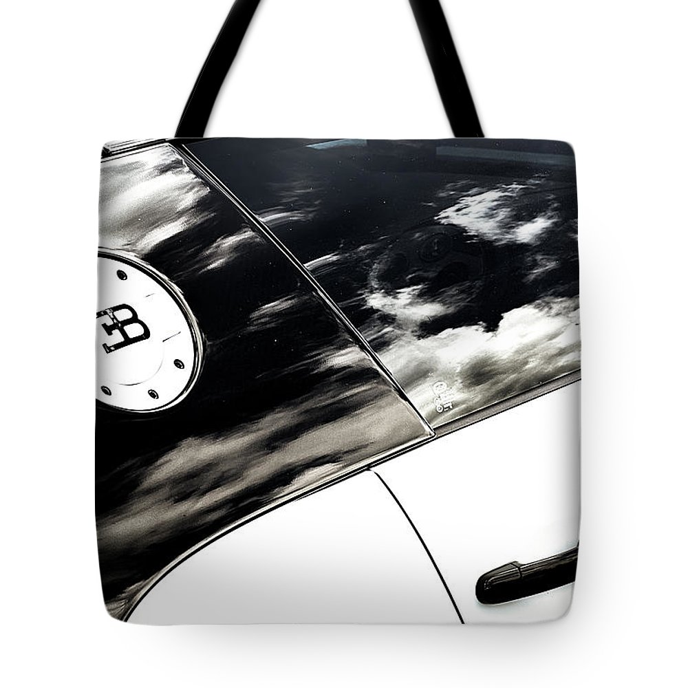 Bugatti Tote Bag featuring the photograph Weathered Bugatti by Scott Wyatt
