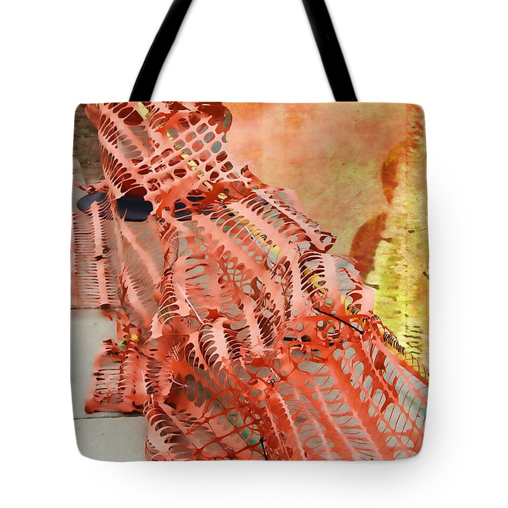 School Tote Bag featuring the photograph Web II by Sylvia Thornton