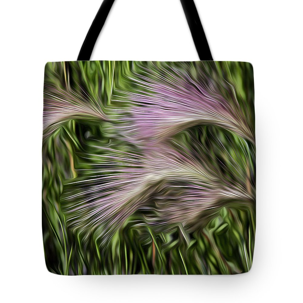 Weed Tote Bag featuring the photograph Weed by David Kehrli