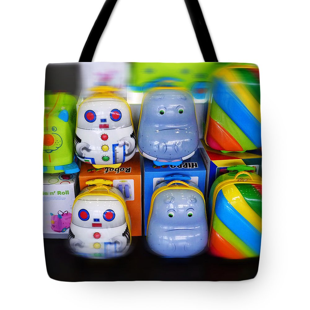 Toys Tote Bag featuring the painting Welcome Home by Charles Stuart